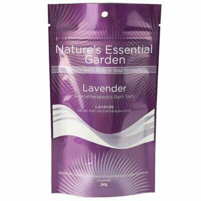Lavender Bath Salts 240g