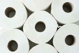 Toilet Paper - 2 Ply - 12 Rolls