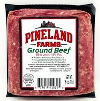 Ground Beef - Pineland Farms - 1LB Frozen