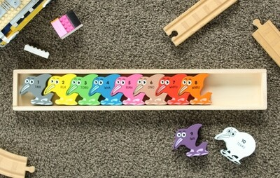 Kiwi or Sheep Wooden Puzzle
