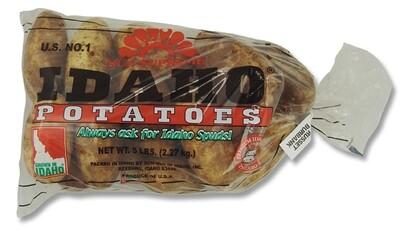 Idaho Potatoes (5 lb Bag)