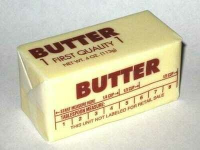 1 lb Stick of Butter (Unsalted)