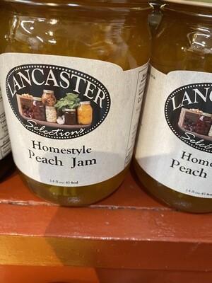 Homemade Lancaster County Peach Jam 12 oz.
