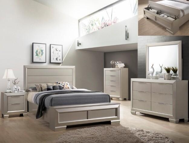 Paloma 4 Piece Bedroom Set *Website Exclusive*