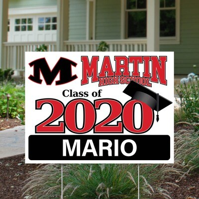 Martin High School (4 styles)