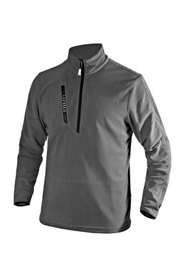 MICROFLEECE POCKET LITEWORK - steel grey