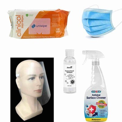 Ultimate protection pack for home or office, retail store