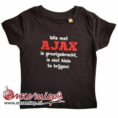 Zwart baby shirt met