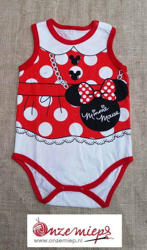 """Rompertje """"Minnie Mouse"""""""