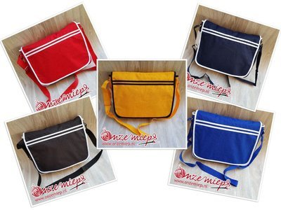 Ontwerp je eigen stoere retro tas - 5 kleuren