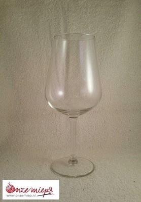 Persoonlijk wijnglas met naam, korte tekst of afbeelding