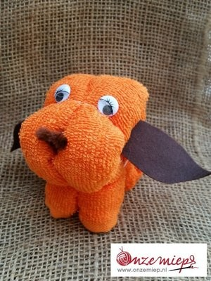 Oranje hondje