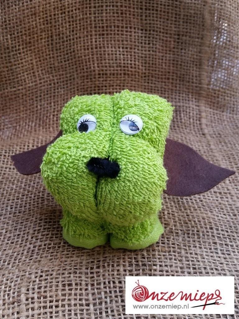 Groen hondje