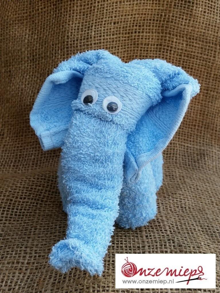 Blauw olifantje