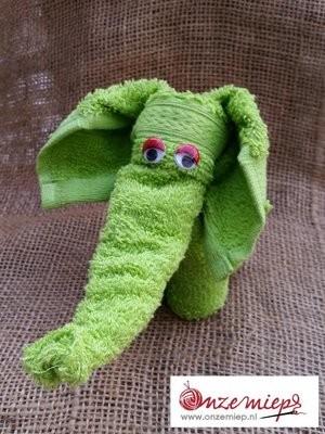 Groen olifantje