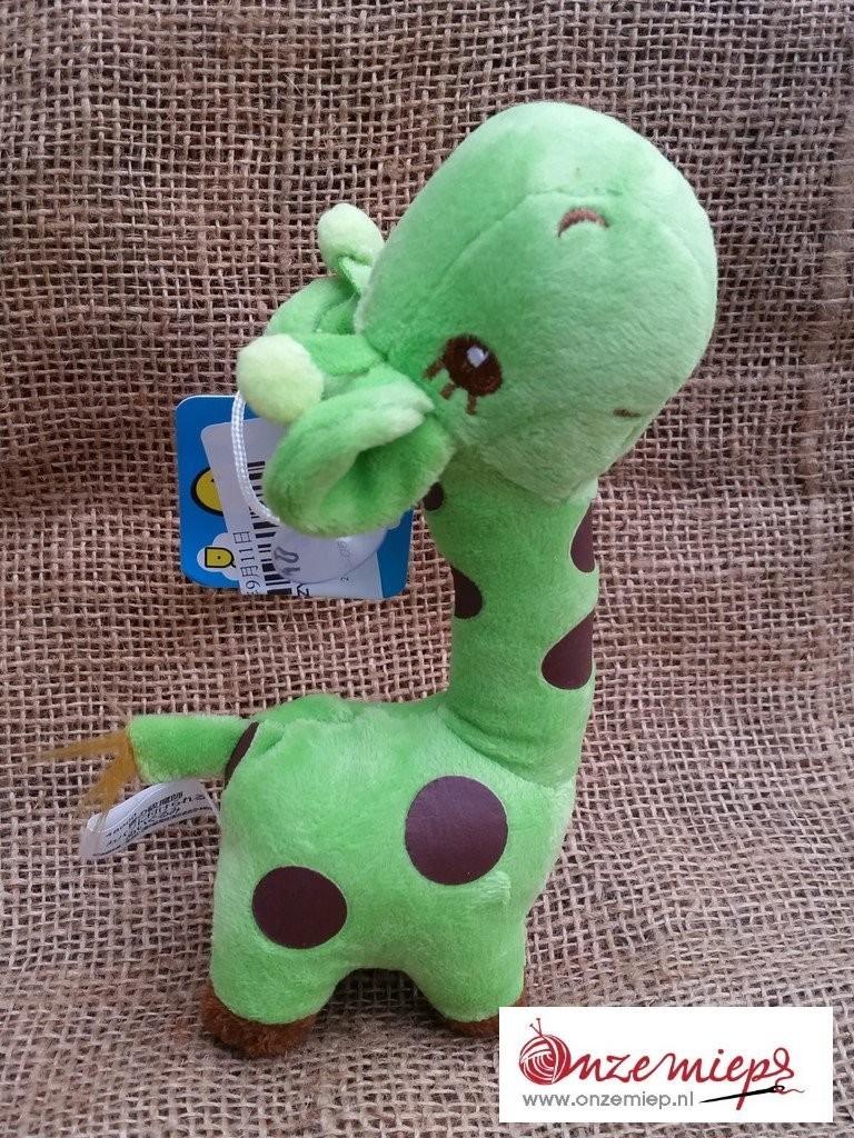 Groene giraffe