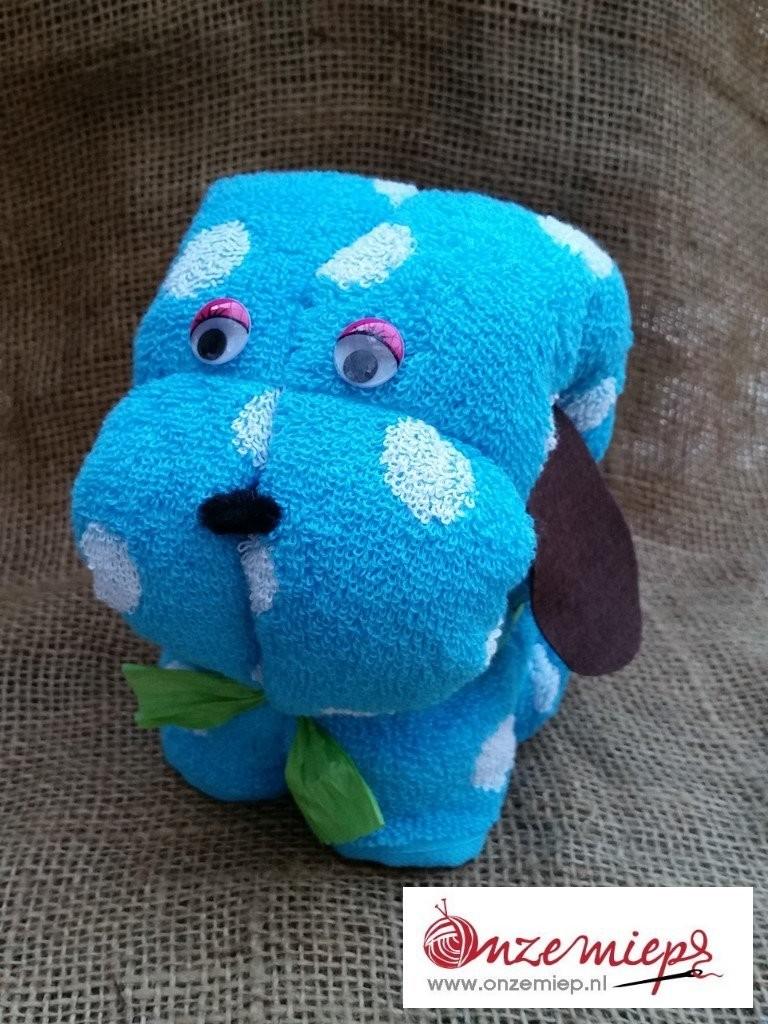 Blauwe hond