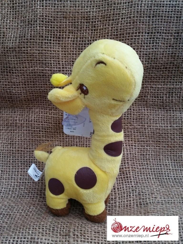 Gele giraffe