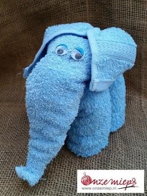 Blauwe olifant
