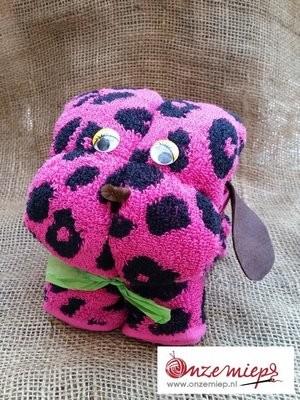 Roze hond