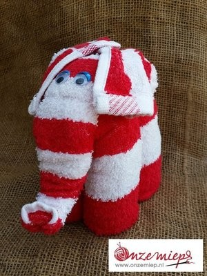 Rood/witte olifant