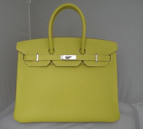 a2f2c8c611 35 cm Lime Candy Epsom Leather Hermès Birkin Handbag (2015)