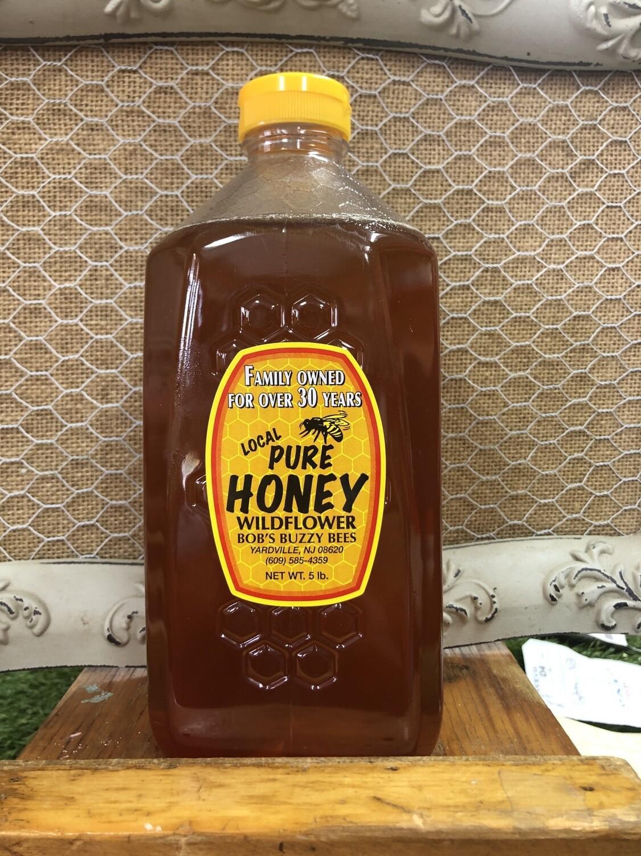 Honey - 5lb Jar