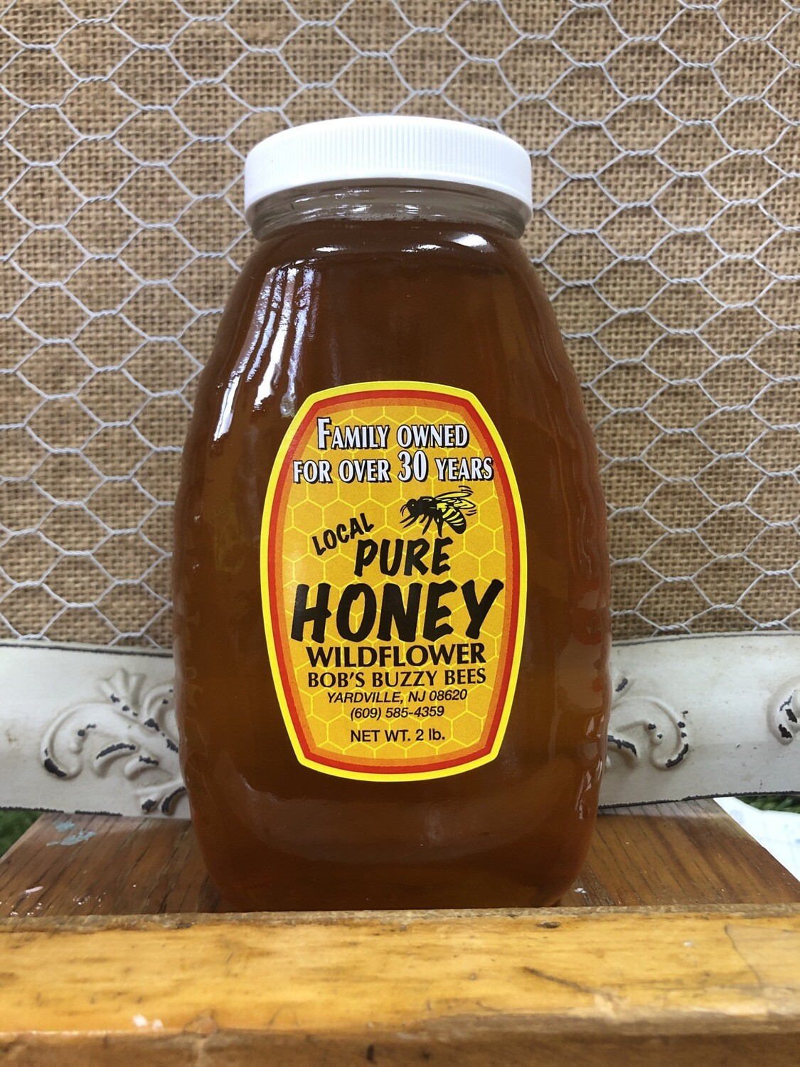 Honey - 2lb Jar
