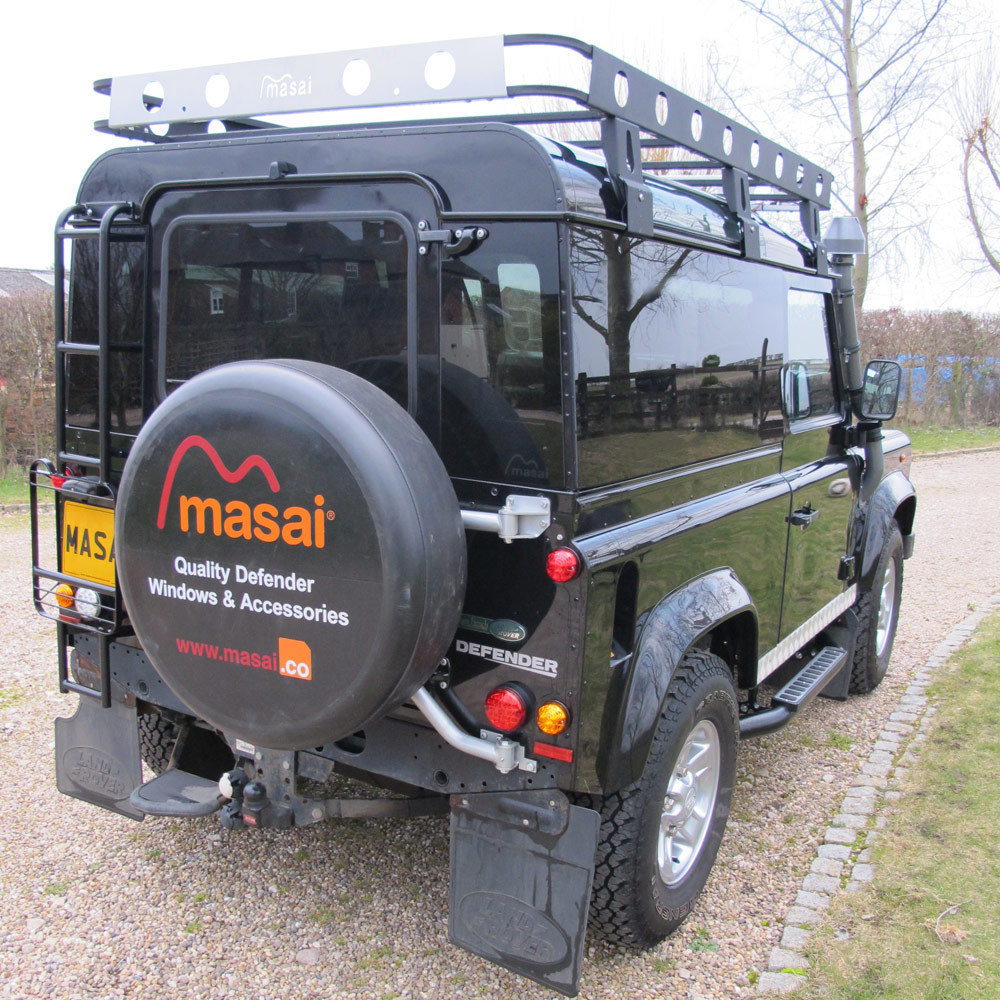 Fixed Masai Panoramic Tinted Windows for Land Rover Defender 110