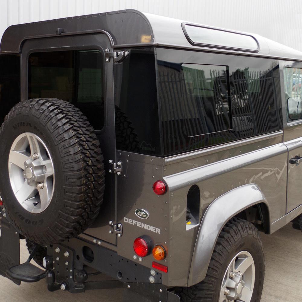 Sliding Masai Panoramic Tinted Windows for Land Rover Defender 90