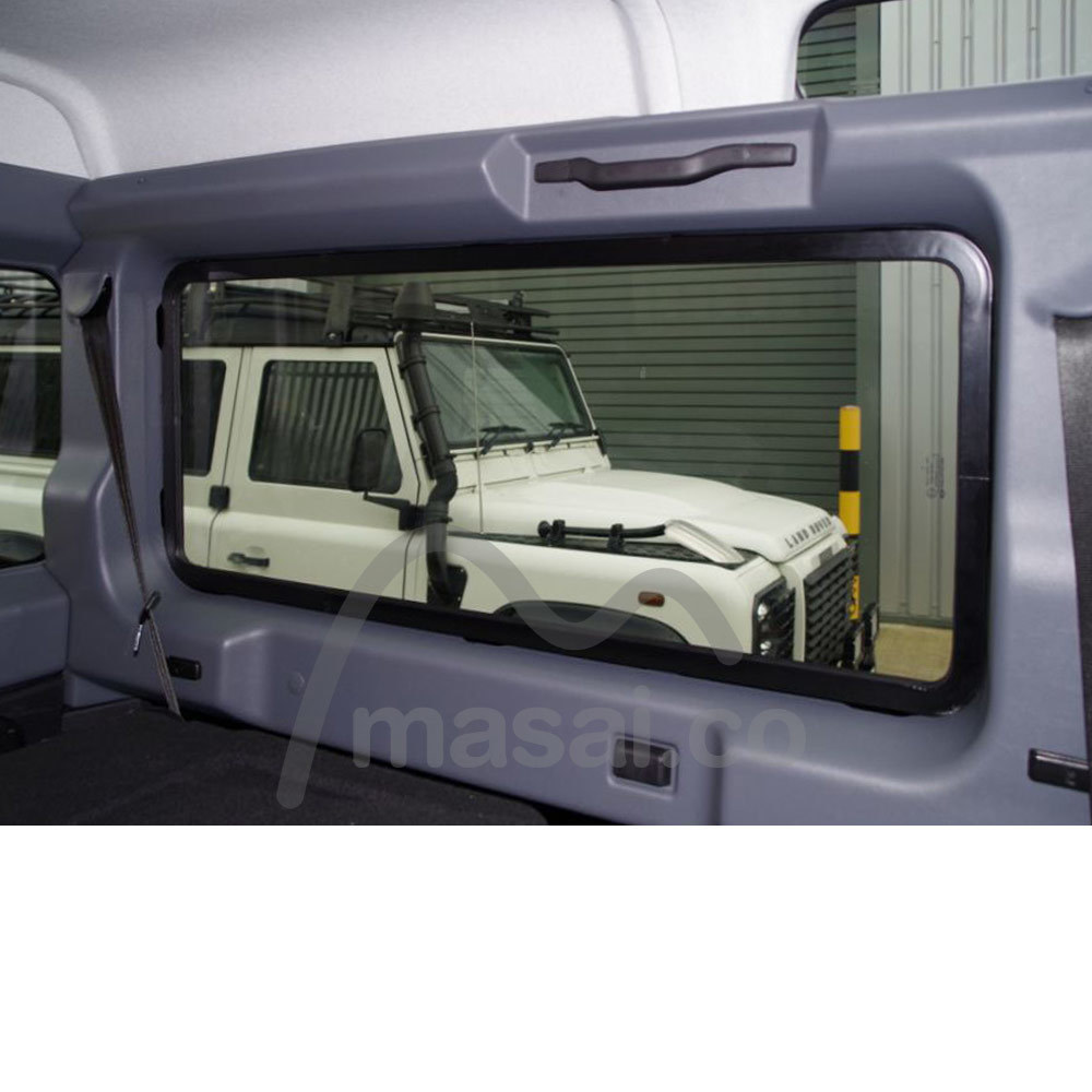 Masai Panoramic Windows include an internal aluminium frame - competitors do not!