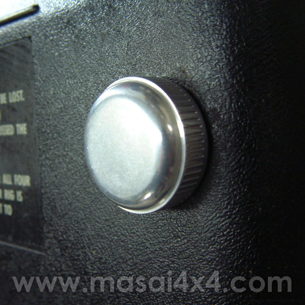 Billet Aluminium Fuse Box Knobs For Defender 90  110 Td5