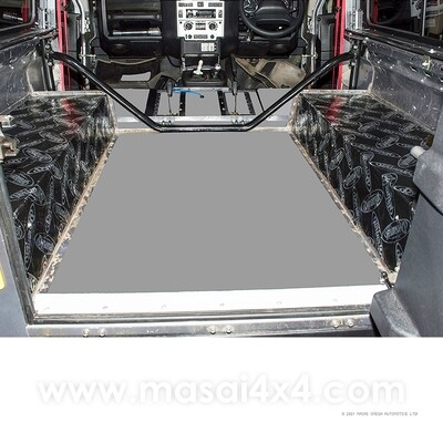 Dynamat Xtreme Sound Deadening Kit - Rear Wheel Arches for Defender 90 Models (Pre 2007)