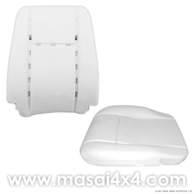 Front Seat Foam Replacement Kit for Defender Puma models (Post 2007)