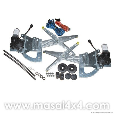 Electric Windows Conversion Kit for Defender 90/110 for Front Doors