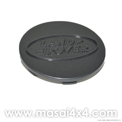 Genuine Land Rover Wheel Centre Cap with Logo - Black or Silver
