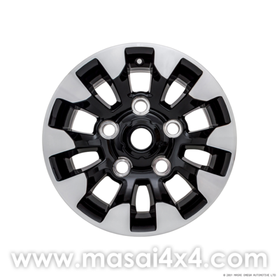 Special Edition Style Alloy Wheel - Black Gloss, Diamond Cut Finish (16