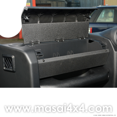 Glove Box Kit for Post 2007 Defender (Standard Finish/ Carbon Fibre Finish)