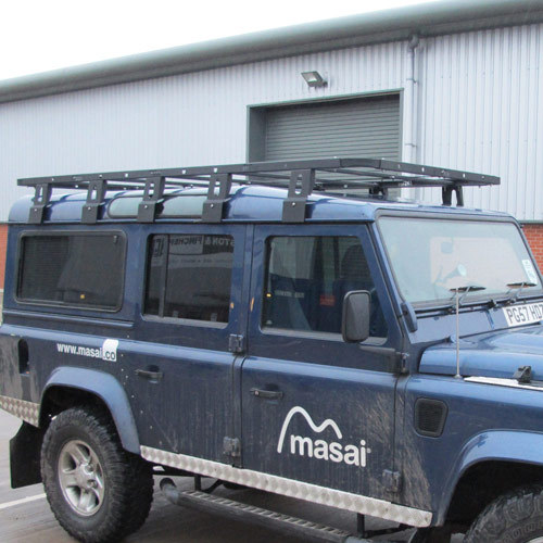 Flat Roof Racks for Land Rover Defender 90 and 110 - 3 Sizes FLRR45