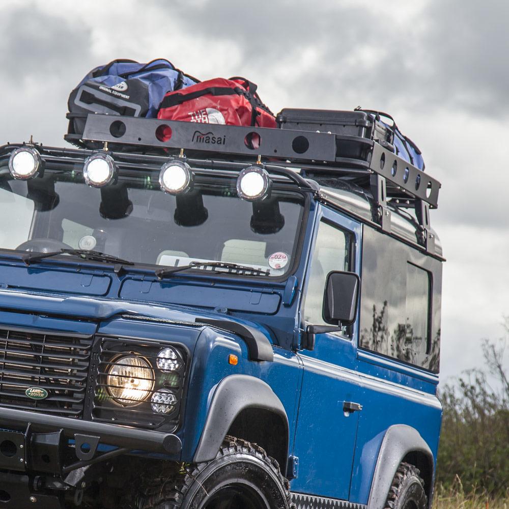 Luggage Roof Racks for Land Rover Defender 90 & 110 - 3 sizes LUGRR120