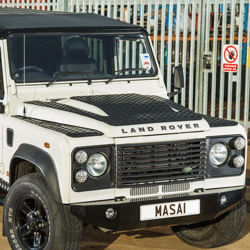 3mm Aluminium Chequer Plate Kit For Land Rover Defender