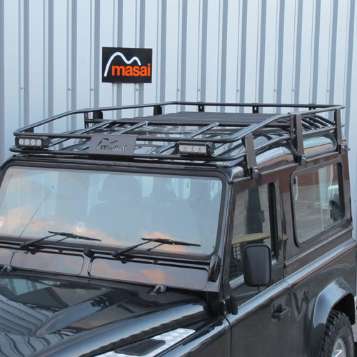 Tubular Roof Rack For Defender 90, Crew Cab And 110 (3