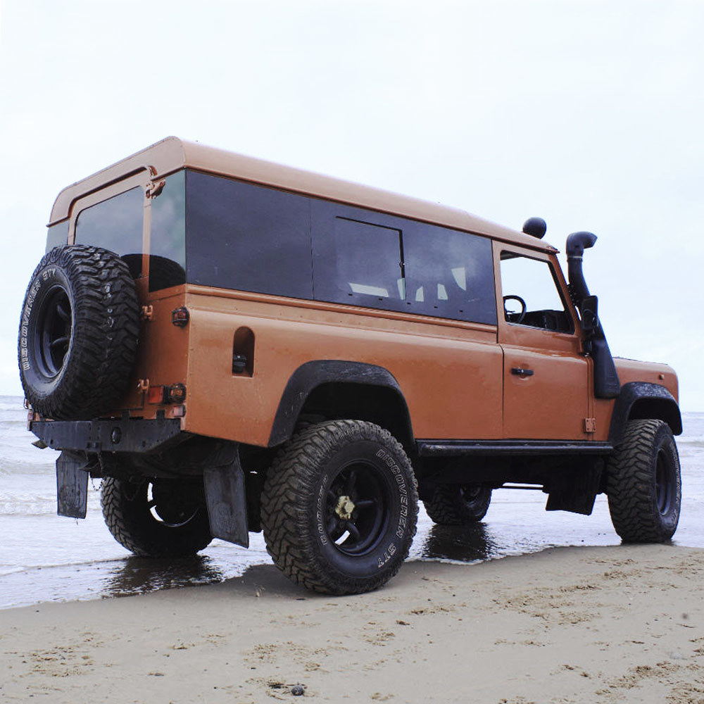 Panoramic Tinted Windows Full Length for Land Rover Defender 110 2-Door Hardtop (BACK IN STOCK!) FLPAN110