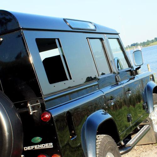 Sliding Masai Panoramic Tinted Windows for Land Rover Defender 110 PANORAMICS-110S