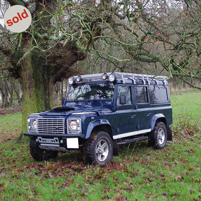 Land Rover Defender 110 Td5 Landroverdefender Td5: Blue 2003 Land Rover Defender 110 TD5 XS