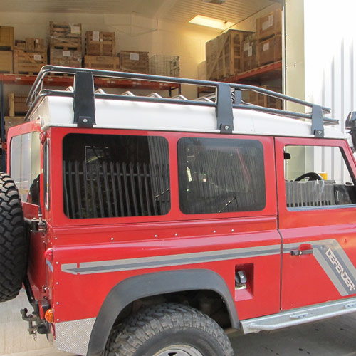 Tinted Double Side Windows for Land Rover Defender 90 & 110 hard top / panel van
