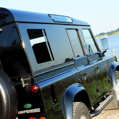 Sliding Masai Panoramic Tinted Windows for Land Rover Defender 110