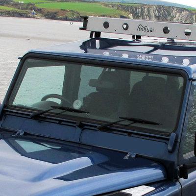 windscreens masai land rover defender upgrades. Black Bedroom Furniture Sets. Home Design Ideas