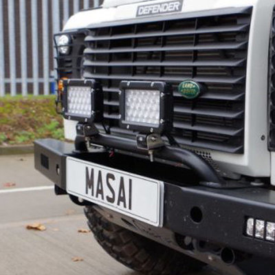 Bumper Light Bar for Land Rover Defenders (Mount Lights)