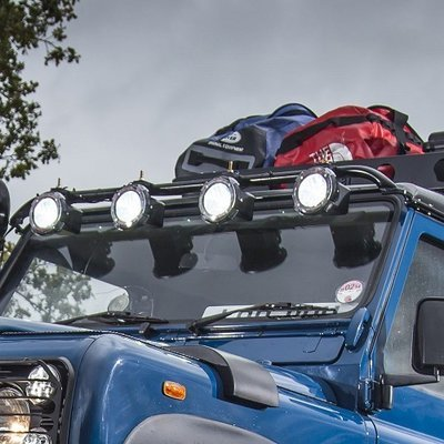 Tubular Roof Light Bar For Defenders 90, 110 and 130
